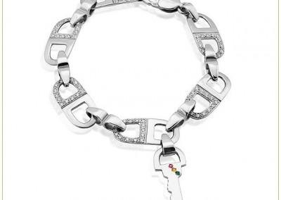 Silver-DLink-Bracelet