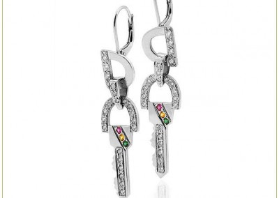 Silver-Wire-Earrings-Pave